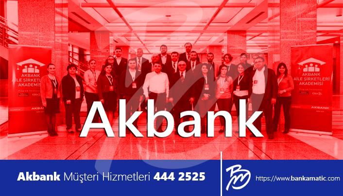 Akbank Müşteri Hizmetleri 444 2525