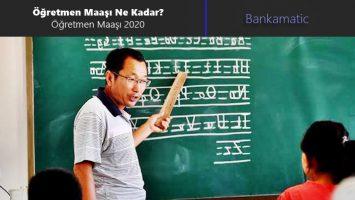 Öğretmen Maaşı Ne Kadar