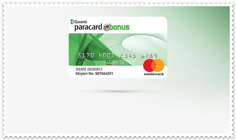 Garanti Kart Şifresi Alma