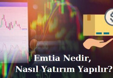 emtia nedir emtia yatırımı nasıl yapılır